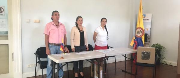 Las votaciones de la Consulta Popular Anticorrupción transcurren con normalidad en el Consulado de Colombia en Willemstad
