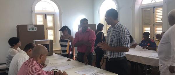 Consulado de Colombia en Willemstad: inició el último día de elecciones presidenciales de segunda vuelta